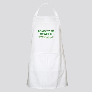 Be Nice To Me Dad Apron