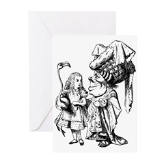 Alice and the Duchess Greeting Cards (Pk of 20)