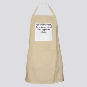 Whine action Apron