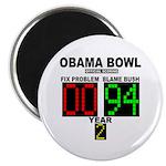 """Obama Bowl 2.25"""" Magnet (10 pack)"""