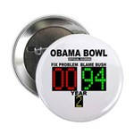 """Obama Bowl 2.25"""" Button (100 pack)"""