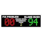 Obama Bowl Sticker (Bumper 10 pk)