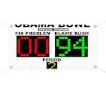 Obama Bowl Banner