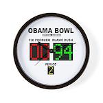 Obama Bowl Wall Clock