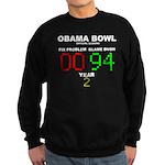 Obama Bowl Sweatshirt (dark)