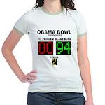 Obama Bowl Jr. Ringer T-Shirt