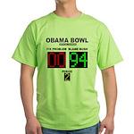Obama Bowl Green T-Shirt