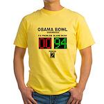Obama Bowl Yellow T-Shirt