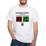 Obama Bowl White T-Shirt