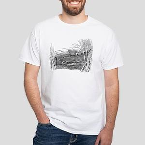 Tailing Drum White T-Shirt