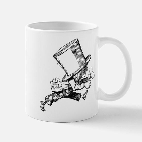 Mad Hatter Striding Right Mug