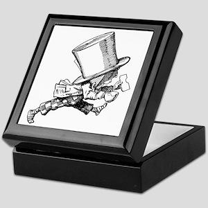 Mad Hatter Striding Right Keepsake Box
