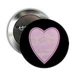 "Pink Heart 2.25"" Button (100 pack)"