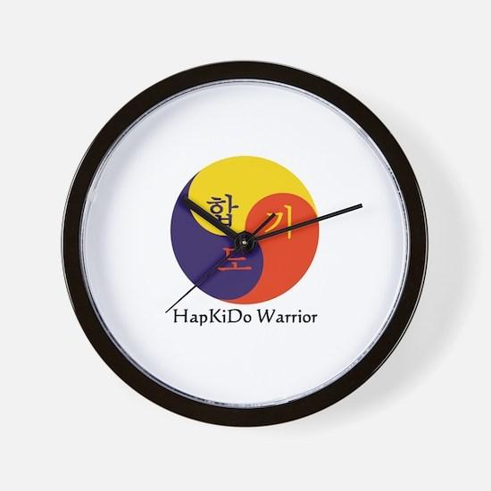 HapKiDo Warriors Wall Clock