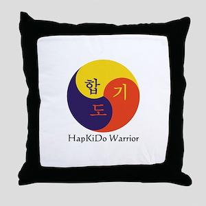 HapKiDo Warriors Throw Pillow
