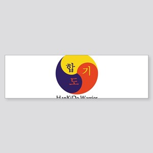 HapKiDo Warriors Sticker (Bumper)