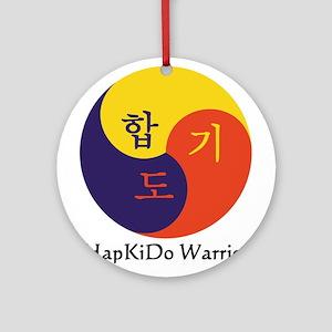 HapKiDo Warriors Ornament (Round)