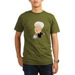 Clinton Petting A Jack Russel Organic Men's T-Shir