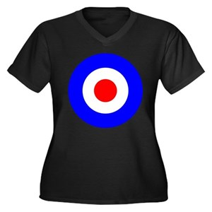 2badfb5eaeb Mod Target Women s Plus Size T-Shirts - CafePress