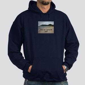 Lake Michigan shoreline Hoodie (dark)