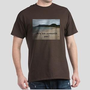 Lake Michigan shoreline Dark T-Shirt