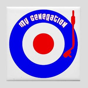 My Generation Tile Coaster
