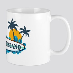 Hilton Head Island SC - Surf Design Mug