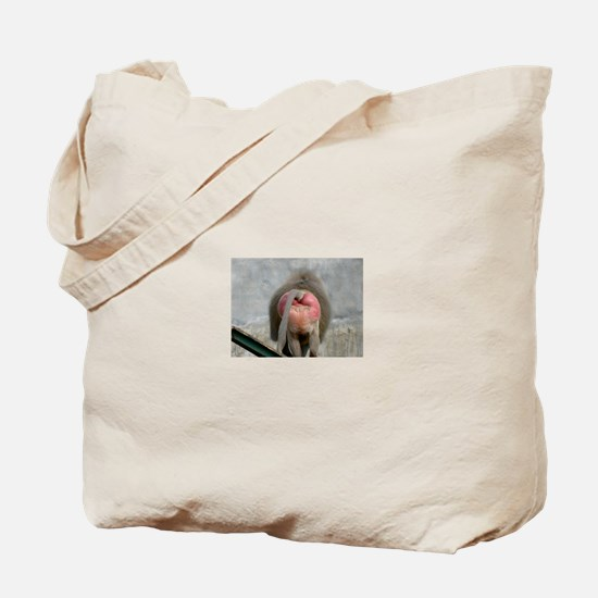 Cute Baboon Tote Bag