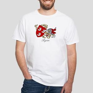 Ryan Coat of Arms White T-Shirt