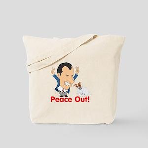 President Nixon and JRT Peace Tote Bag