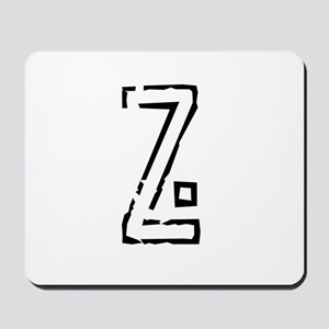Stamp Z Mousepad