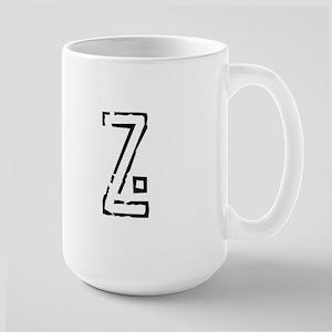 Stamp Z Large Mug