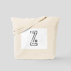 Stamp Z Tote Bag