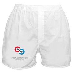 Cyber Sprocket Logo Boxer Shorts
