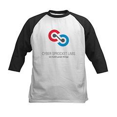 Cyber Sprocket Logo Kids Baseball Jersey