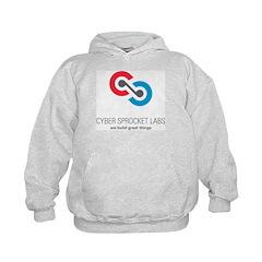 Cyber Sprocket Logo Kids Hoodie