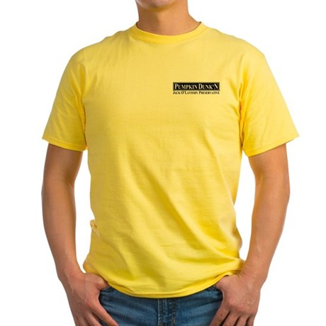 Pumpkin Dunk'N Yellow T-Shirt