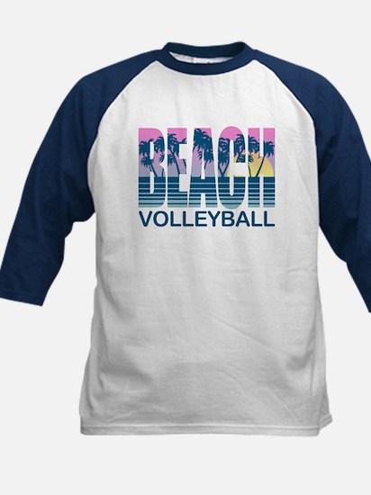 Beach Volleyball Kids Baseball Jersey