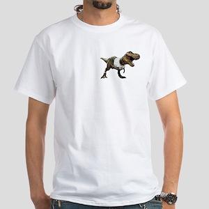 White T-Rex Shirt