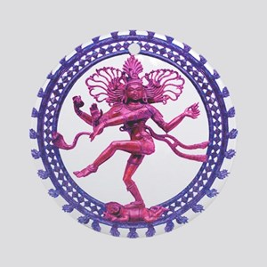 Shiva Ornament (Round)