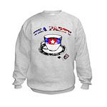 Tea Party Kids Sweatshirt