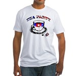 Tea Party Fitted T-Shirt