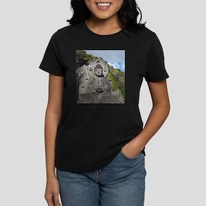 Cat And Butterflies T-Shirt (dark)