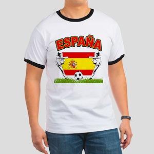 Spainish Soccer Ringer T
