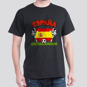 Spainish Soccer Dark T-Shirt