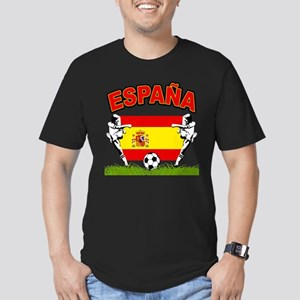 Spainish Soccer Men's Fitted T-Shirt (dark)