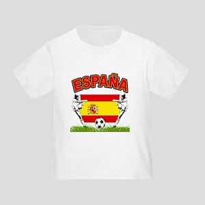 Spainish Soccer Toddler T-Shirt