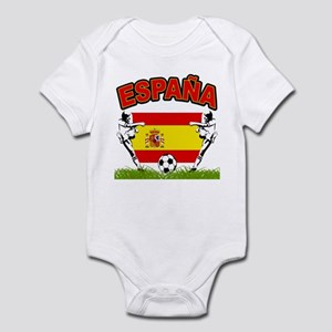 Spainish Soccer Infant Bodysuit