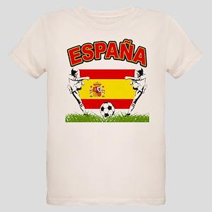 Spainish Soccer Organic Kids T-Shirt