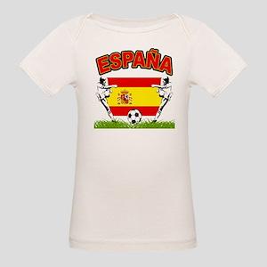 Spainish Soccer Organic Baby T-Shirt